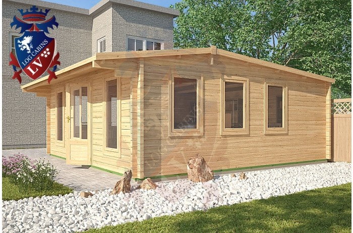 Log Cabins Newhaven 5.8m x 5.8m - 125 1