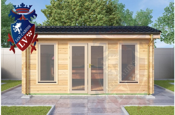 Log Cabins Petham 5.0m x 4.0m 786 3