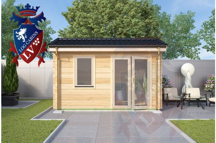 Log Cabins Plaxtol 4.0m x 3.0m 774 4