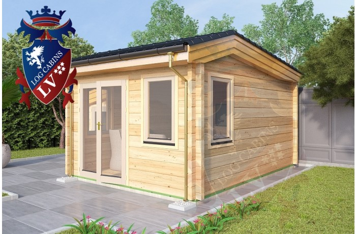 Log Cabins Pluckley 3.5m x 4.5m 787 2