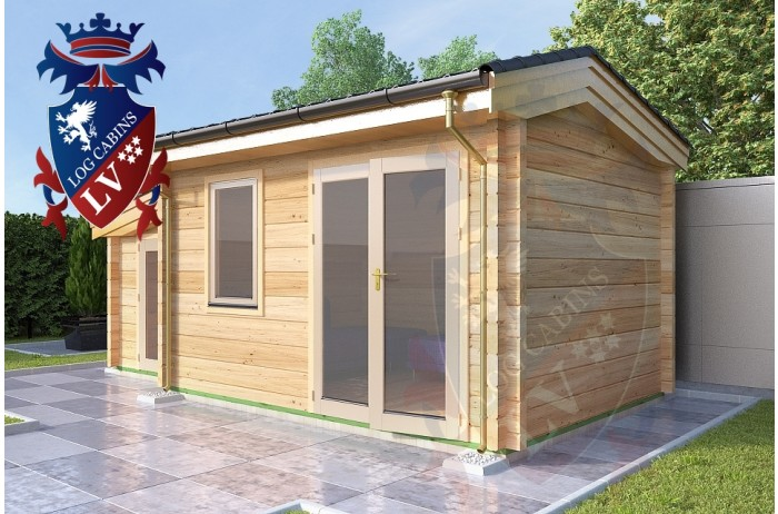 Log Cabins Wilmington 4.0m x 3.0m 780 4