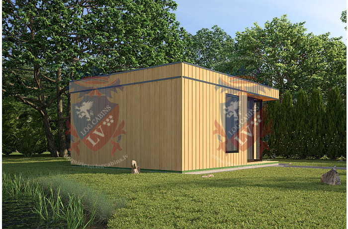 Log Cabins Sussex Siberian Larch Clad Fully Insulated Garden Office Catherine 6.0m x 4.0m-1