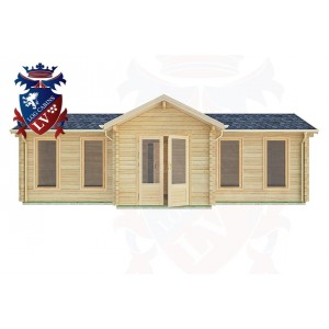 Log Cabins Crawley 8.5m x 4.5m -2127 1