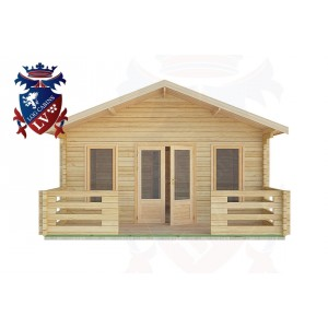 Log Cabins Arundel 5.0m x 8.0m -2099 1