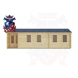 Log Cabins Hammerwood 9.0m x 3.0m -2128 1