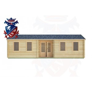 Log Cabins Mannings Heath 9.0m x 3.0m -2129 1