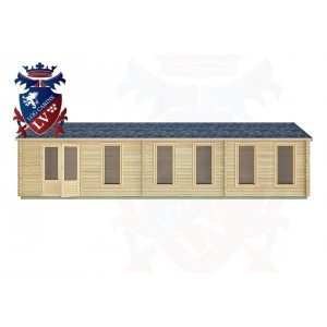 Log Cabins Petworth 10.5m x 3.5m -2132 1