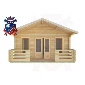 Log Cabins Coombes 5.0m x 9.0m -2100 1