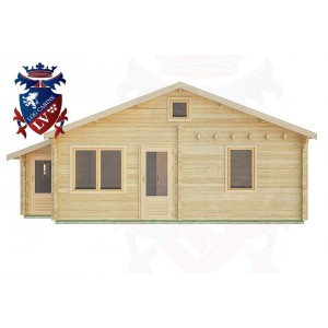 Log Cabins Ifold 7.7m x 4.5m -2123 1