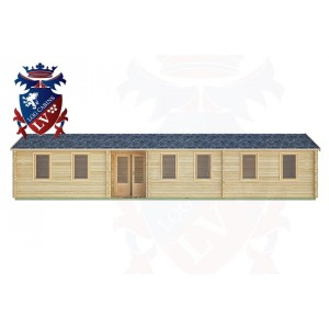 Log Cabins Poynings 13.0m x 3.0m -2135 1