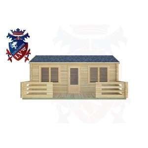 Log Cabins Parham 6.0m x 4.0m -2117 1