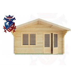 Log Cabins Elmer 5.0m x 3.0m -2081 1