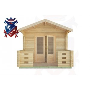 Log Cabins Hoyle 3.0m x 4.0m -2016 1