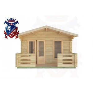 Log Cabins Lindfield 4.0m x 3.0m -2045 1