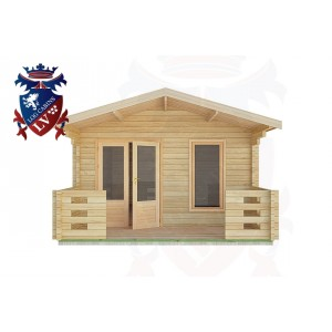 Log Cabins Ford 4.0m x5.0m -2047 1
