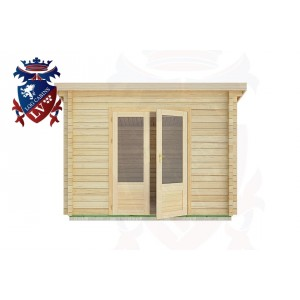 Log Cabins Ashurst Wood 3.0m x 2.5m -2034 1