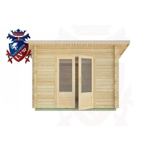 Log Cabins Nuthurst 3.0m x 2.5m -2028  1