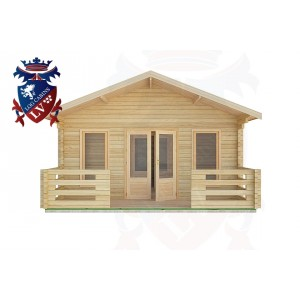 Log Cabins East Wittering 5.0m x 7.0m -2095 1