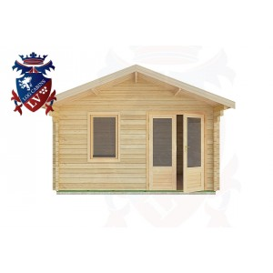 Log Cabins Aldwick 4.0m x 4.0m -2071 1