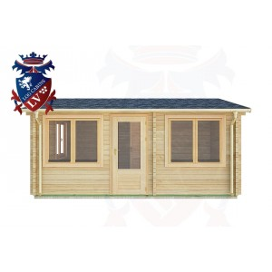 Log Cabins Apuldram 5.5m x 4.0m -2111 1