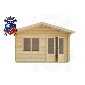 Log Cabins Chidham 4.0m x 4.0m -2064 1