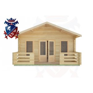 Log Cabins Upwaltham 11.0m x 5.0m -2084 1