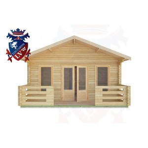Log Cabins Worthing 12.0m x 5.0m -2085 1