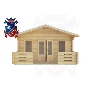 Log Cabins Lyminster 5.0m x 3.0m -2087 1