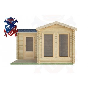 Log Cabins Lodsworth 4.0m x4.0m -2055  1
