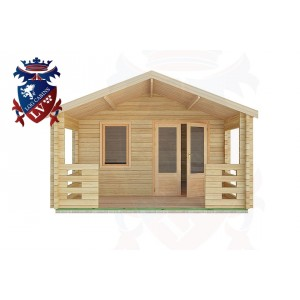 Log Cabins Plaistow 4.0m x4.0m -2056 1