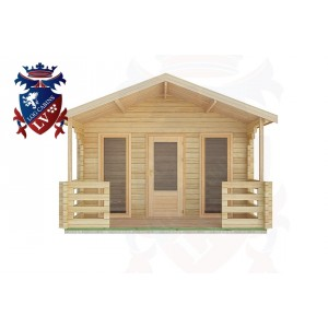 Log Cabins Sutton 4.0m x3.0m -2057 1