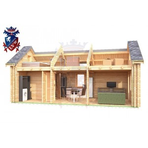 Log Cabin Northiam 4.0m x 8.0m 8