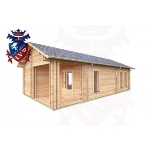 Log Cabins Alciston 5.0m x 9.0m - 3001 2