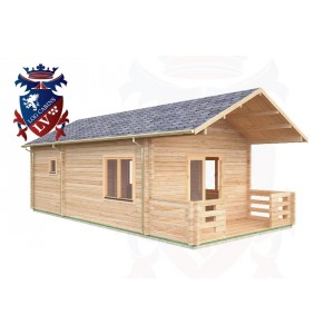 Log Cabins Camber 4.0m x 8.5m - 014