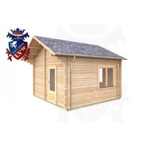 Log Cabins Downside 4.0m x 4.0m - 015 3