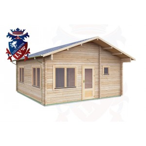 Log Cabins Hailsham 5.5 m x 5.7m - 019