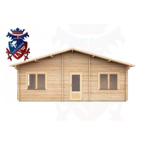 Log Cabins Withyham 7.5m x 5.5m - 296 1