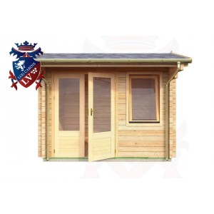 Log Cabins Kingston near Lewes 2.95m x 2.35m - 041 1