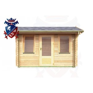 Log Cabins Stone Cross 3.55m x 2.35m - 046 1
