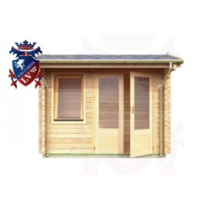 Log Cabins Wilmington 2.95m x 1.75m - 047 1