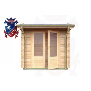 Log Cabins Brighton 2.35m x 2.35m - 048 1