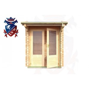 Log Cabins Hankham 1.75m x 2.35m - 049 1