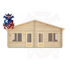 Log Cabins Habin 7.0m x 5.0m -288 1
