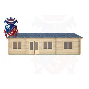 Log Cabins Slindon 10.5m x 8.0m -306 1