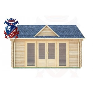 Log Cabins Robertsbridge 5.0m x 4.0m - 059 1