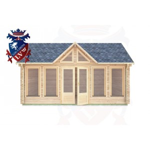Log Cabins Clive Vale 5.5m x 4.0m - 062 1