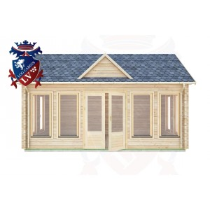 Log Cabins Berwick 5.5m x 4.0m - 063 1