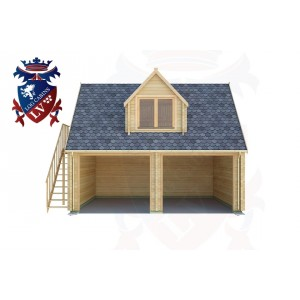 Log Cabins South Heighton 6.0m x 5.0m - 163 1