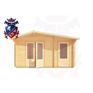 Log Cabins Barcombe Mills 4.5m x 3.0m - 182 1