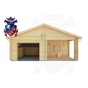 Log Cabins Swaile's Green 7.5m x 8.0m - 285 1